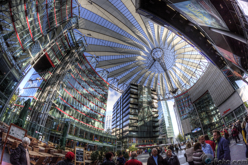 Berlin, Sony Center