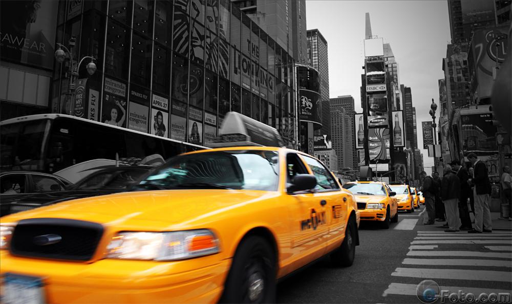 New York – Taxi Lane