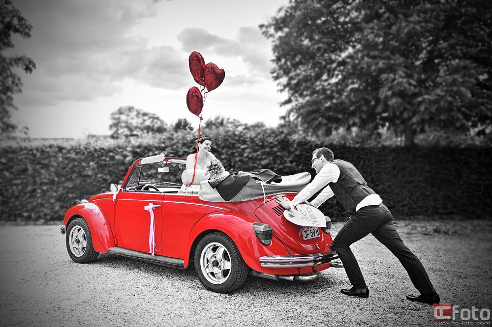 VW Käfer Hochzeitspanne